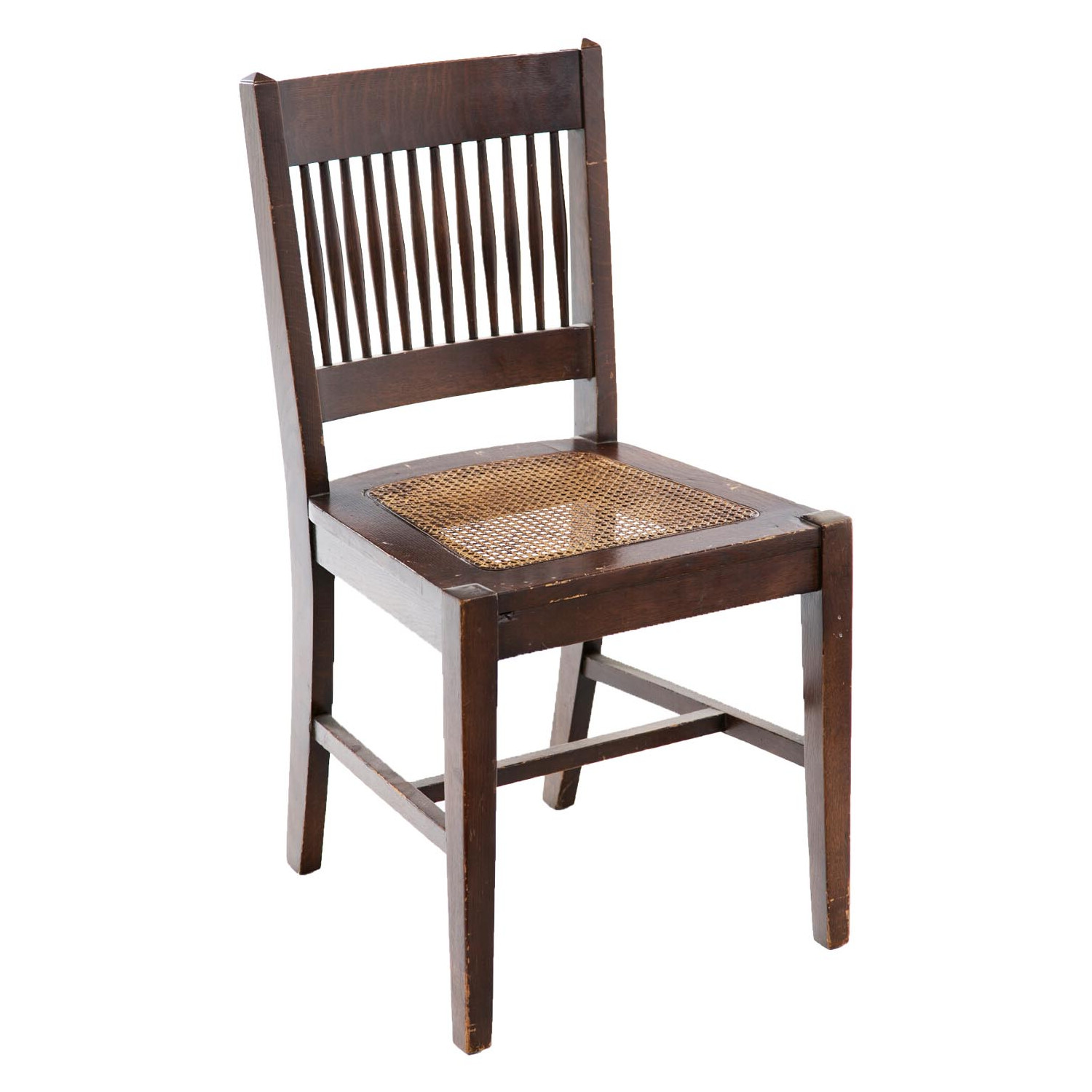 Arts and Crafts Caned Side Chair | Antique and Art Exchange - And Crafts Caned Side Chair Antique And Art Exchange